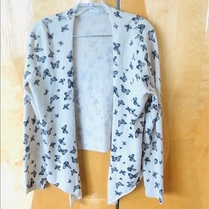 Garnet Hill cashmere cardigan